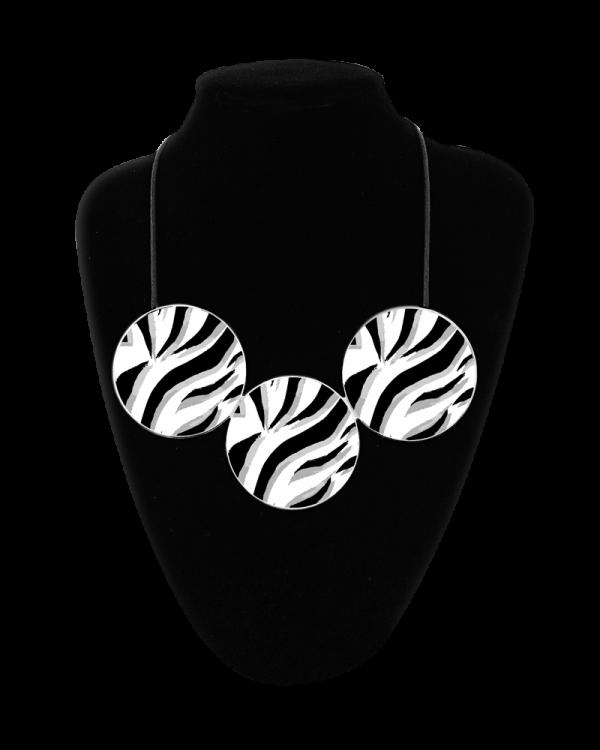 Zebra Grey Large