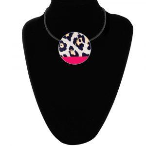 Leopard Cerise